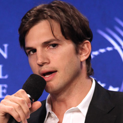 Ashton Kutcher and the Clinton Global Initiative