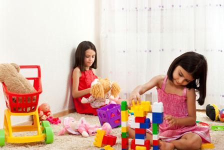 Siblings sharing a room has benefits