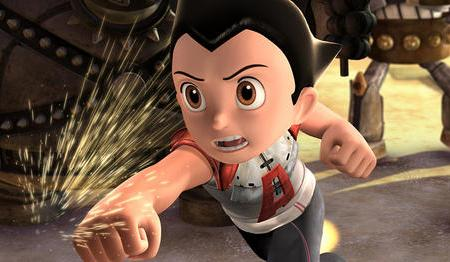 Freddie Highmore is Astro Boy, in theaters today