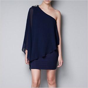 asymmetric zara dress