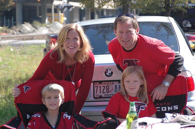Atlanta Falcons tailgate