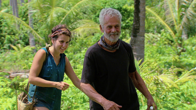 Aubry Bracco with Joseph Del Campo on Survivor: Kaoh Rong
