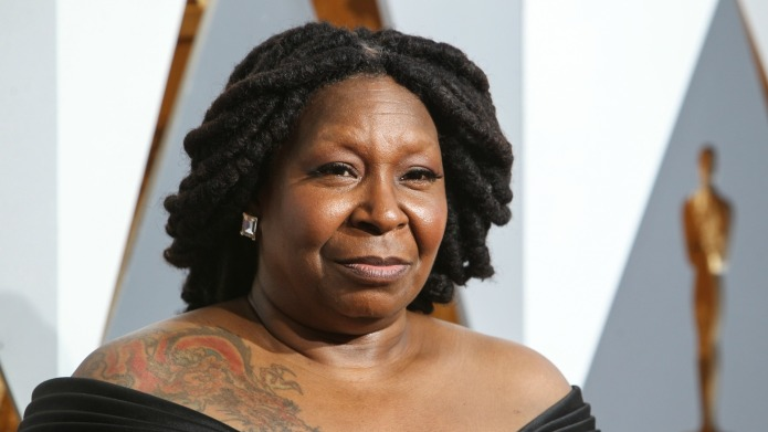 Beauty site's apology for Whoopi confusion