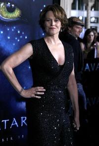 Sigourney Weaver sizzles at the Avatar premiere in LA