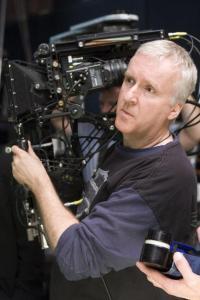 James Cameron at work on Avatar