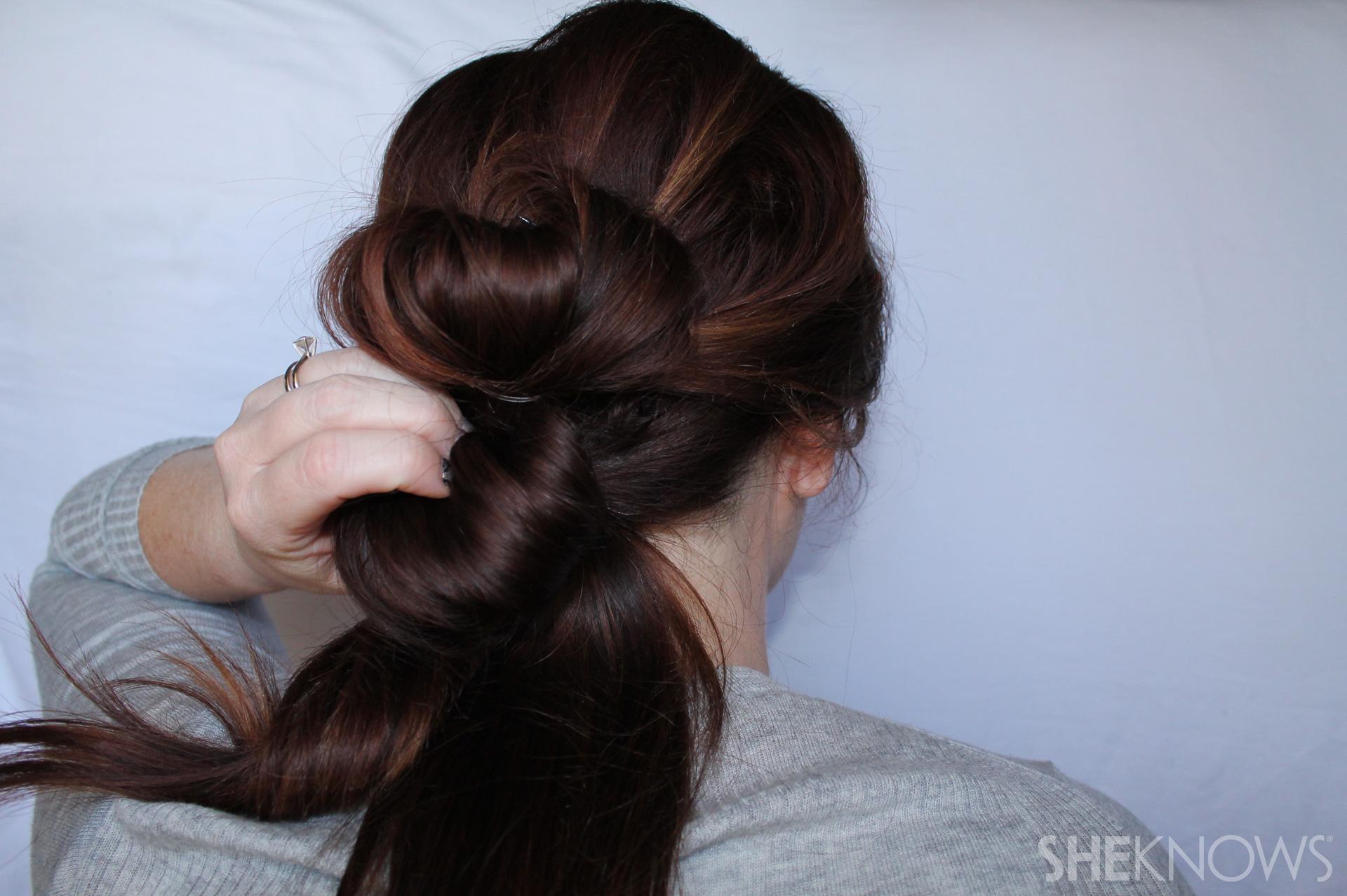 Thin hair tutorial | Sheknows.com - step 11
