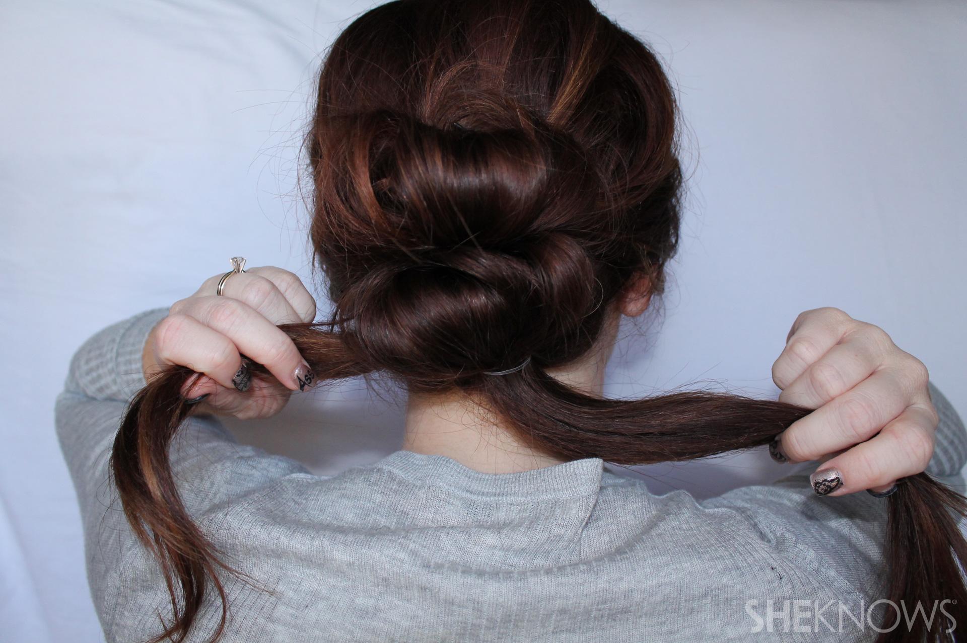 Thin hair tutorial | Sheknows.com - step 13