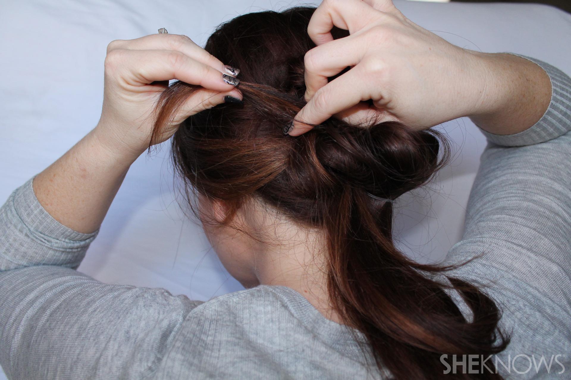 Thin hair tutorial | Sheknows.com - step 14
