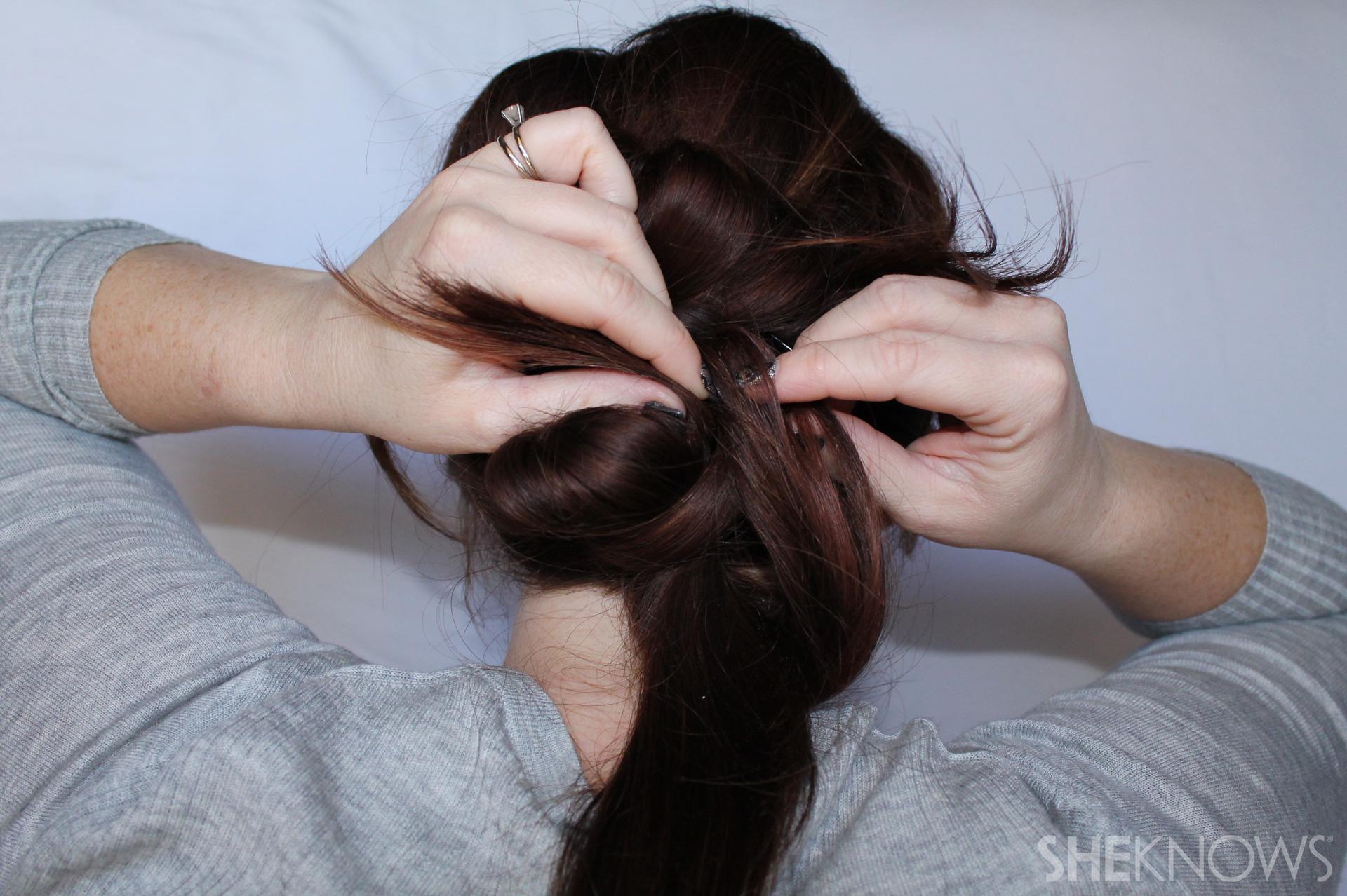 Thin hair tutorial | Sheknows.com - step 17
