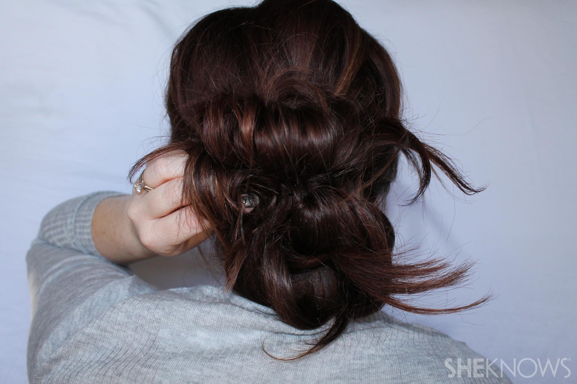 Thin hair tutorial | Sheknows.com - step 18