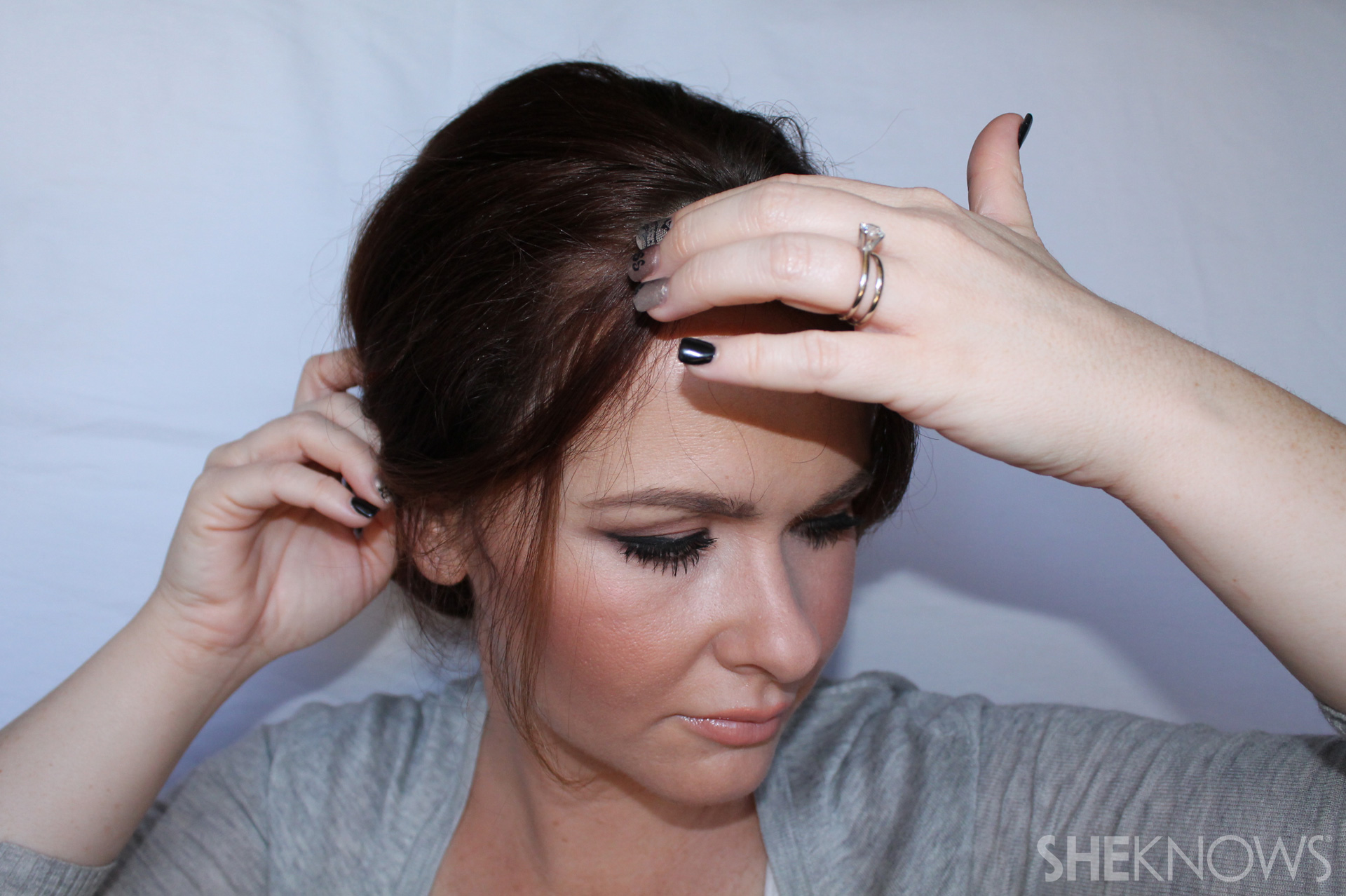 Thin hair tutorial | Sheknows.com - step 20