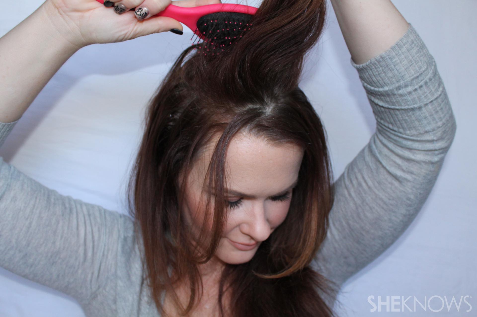 Thin hair tutorial | Sheknows.com - step 04