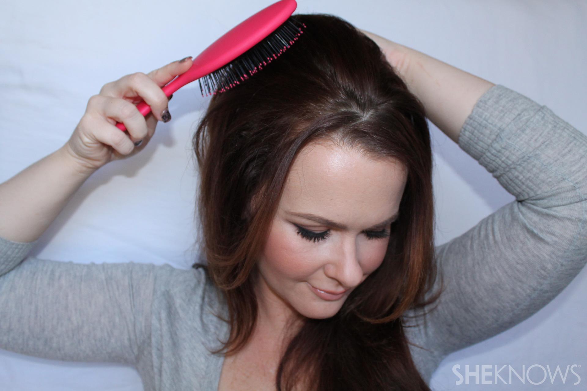 Thin hair tutorial | Sheknows.com - step 06