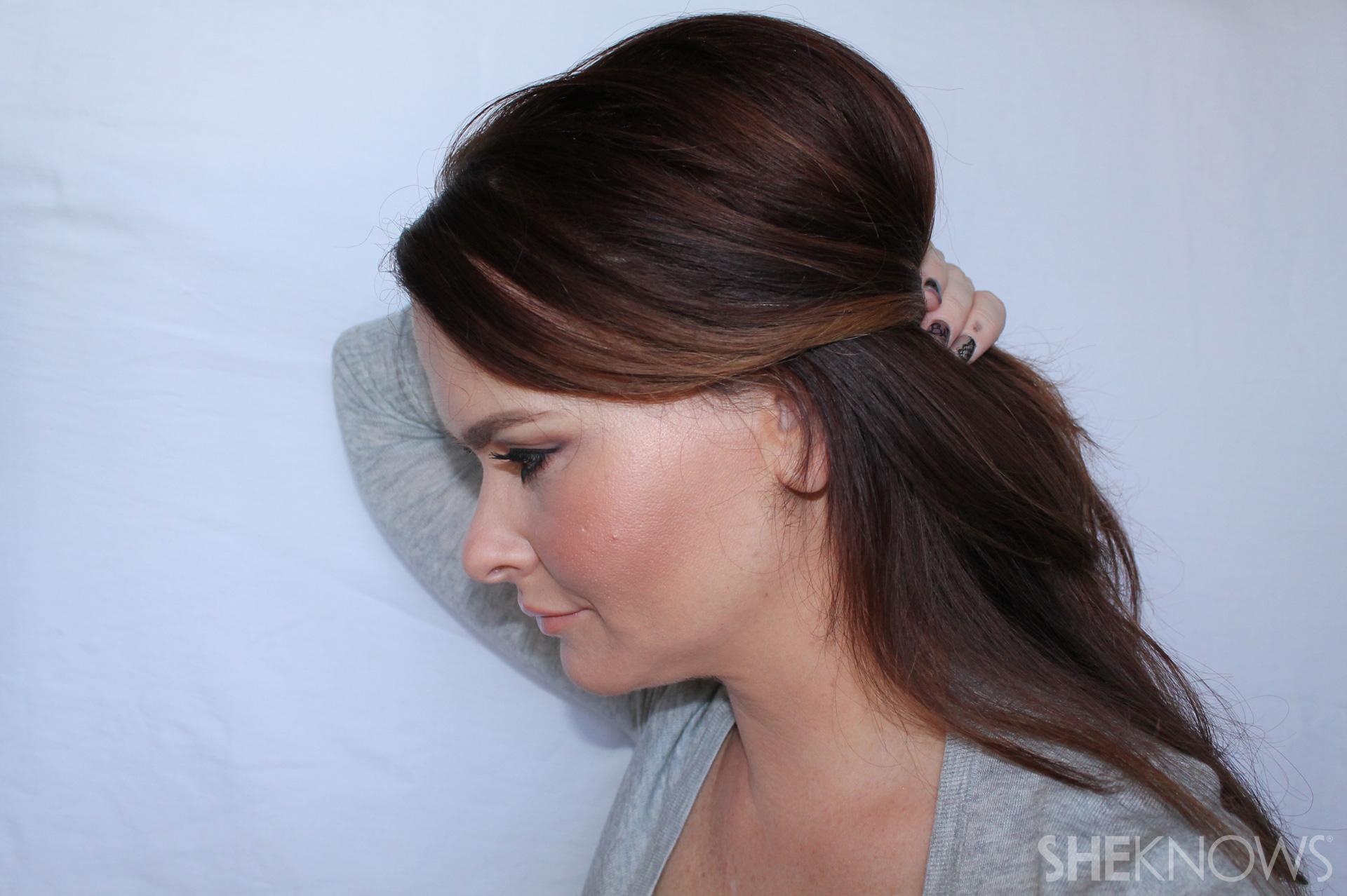 Thin hair tutorial | Sheknows.com - step 08