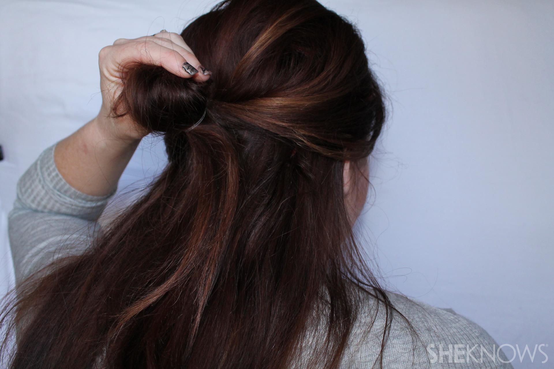 Thin hair tutorial | Sheknows.com - step 09