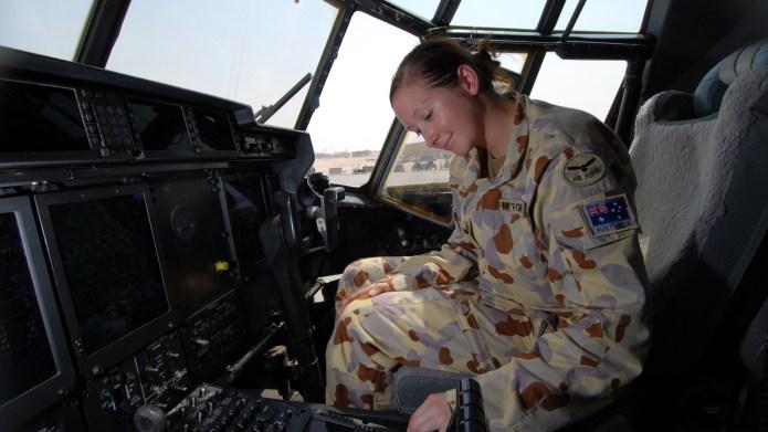 Flying Officer Carlene Heise, 38th Squadron