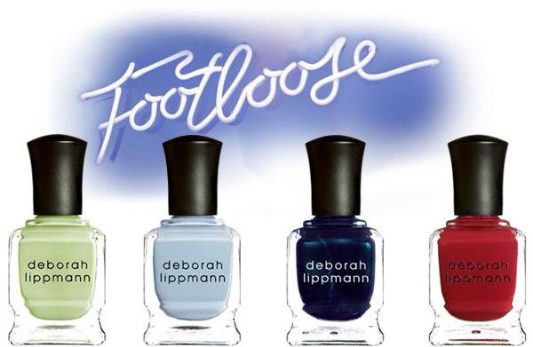 Deborah Lippmann's Footloose nail collection