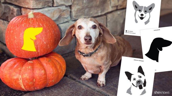 17 Printable dog breed pumpkin carving