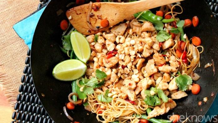 One-Pot Wonder: Thai chicken and veggie