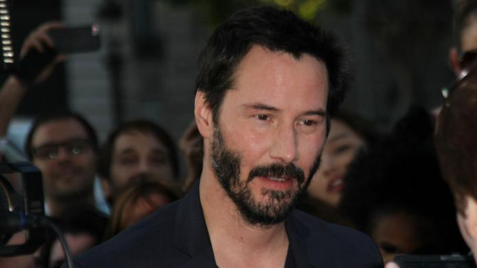 Keanu Reeves comes face-to-face with an
