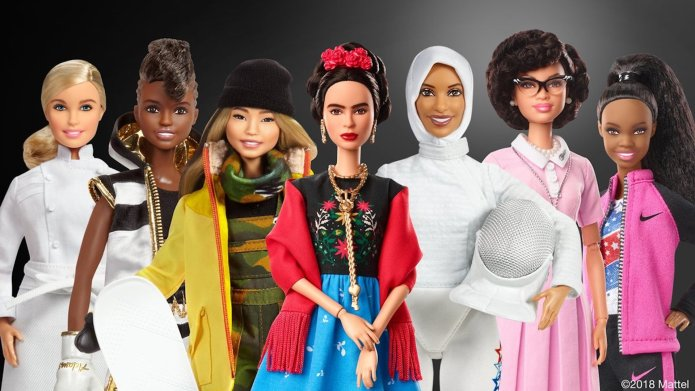Barbie's New Collection Honors Badass Women,