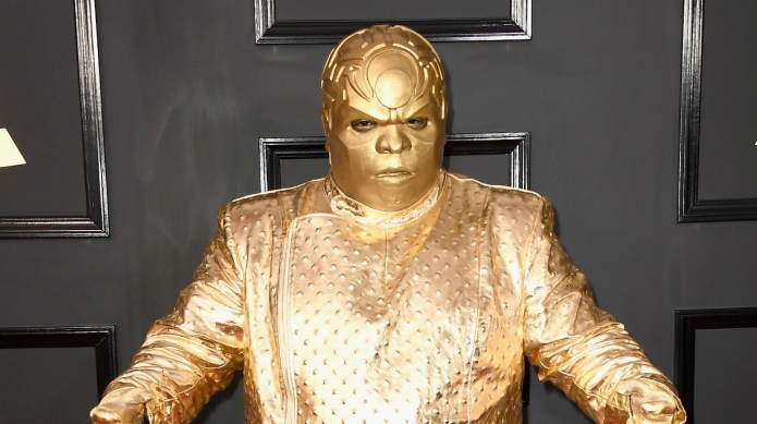 CeeLo Green Gold Attended the Grammys