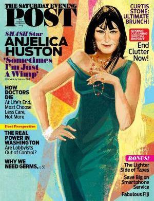 Anjelica Huston talks love, loss and