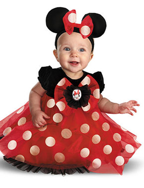Minnie Mouse Halloween costume for babies