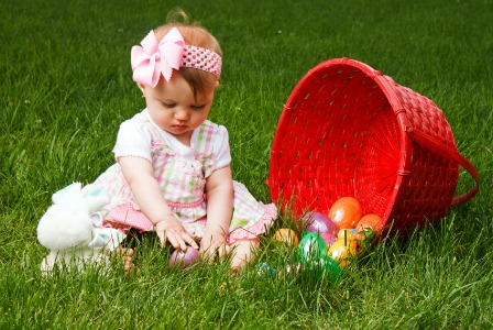 Baby on Easter