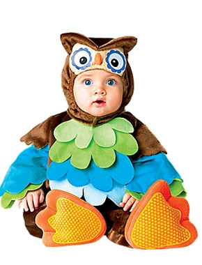 Owl Halloween costume for babies