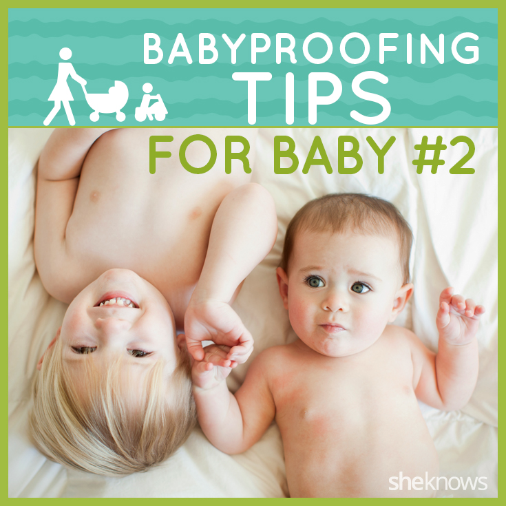 babyproofing for baby number two