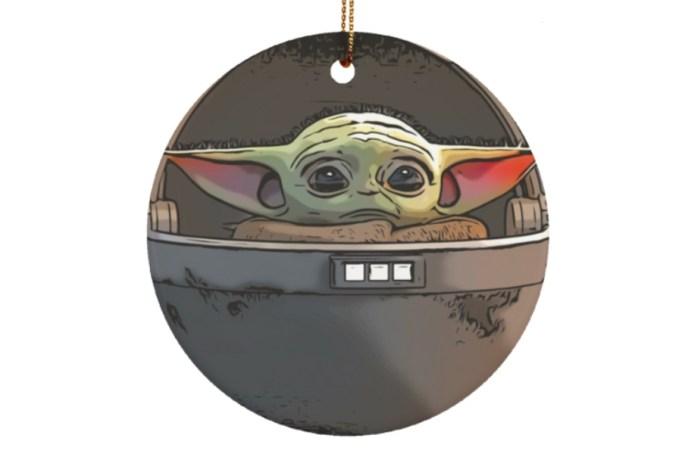 Baby Yoda tree ornament.