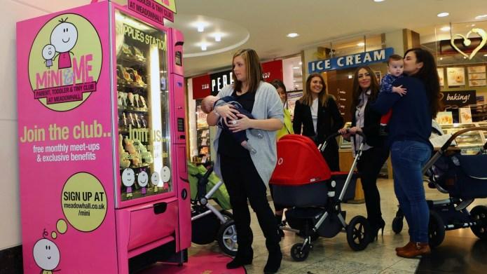 Would you use a parent-friendly vending