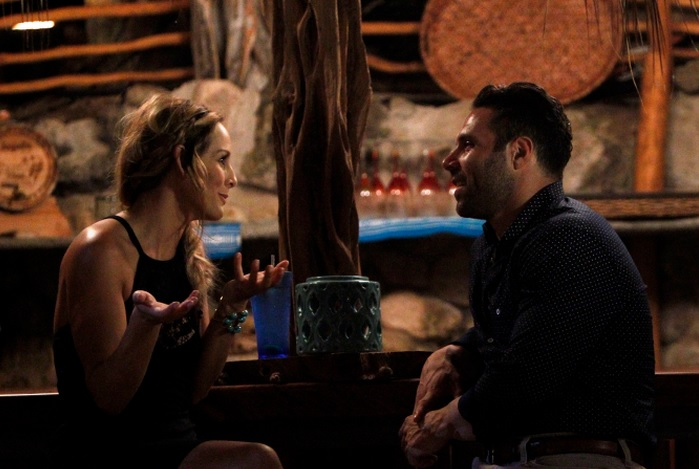 Clare explains she is not into Mikey on Bachelor in Paradise