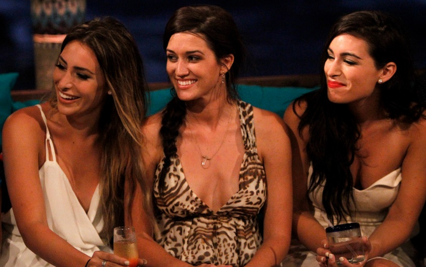 Bachelor in paradise Jade, Ashley, and Lauren