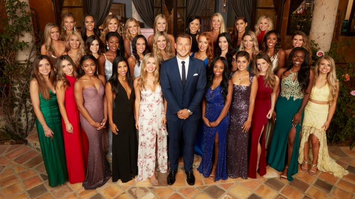group photo from the bachelor 23