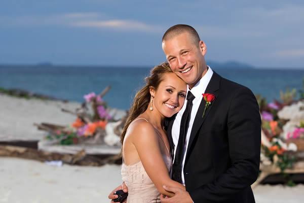 Bachelorette Ashley and fiance JP Rosenbaum
