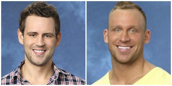 Nick, Cody collage, The Bachelorette