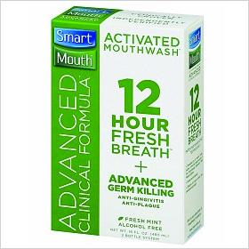 Smart Mouth Advanced Clinical Formula Mouthwash ($14)