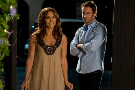 Jennifer Lopez and Alex O'Loughlin in The Back-up Plan