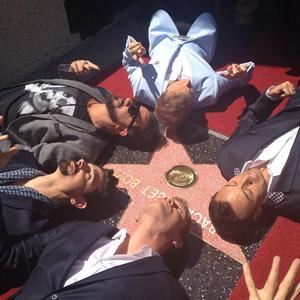 Backstreet Boys Hollywood Walk of Fame