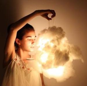 Wedding cloud light