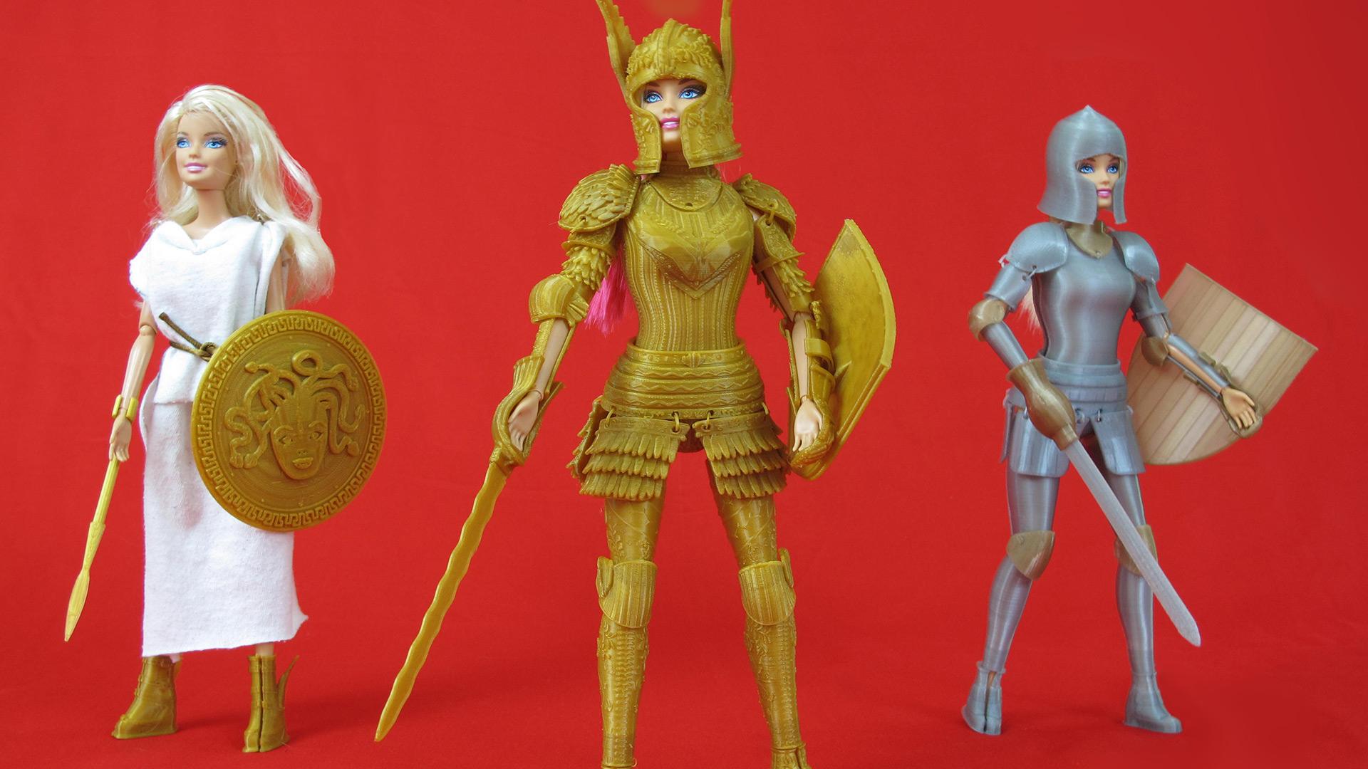 Barbie armored trio | Sheknows.com