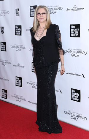 Barbra Streisand receives Chaplin Award