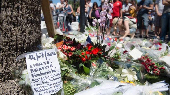 NICE, FRANCE - JULY 15: People