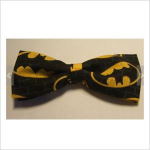 Bat signal bow tie