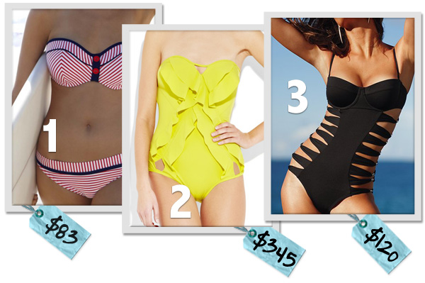 Bathing suit trends