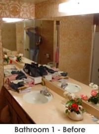 Bathroom 1 before remodel