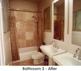 Bathroom 3 after remodel - Work by Steve Price, Legacy Custom Building & Remodeling, Arizona