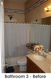Bathroom 3 before remodel